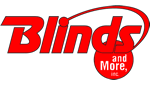 Blinds and More Inc company logo in red